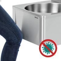 kontaktfreie Handwaschbecken