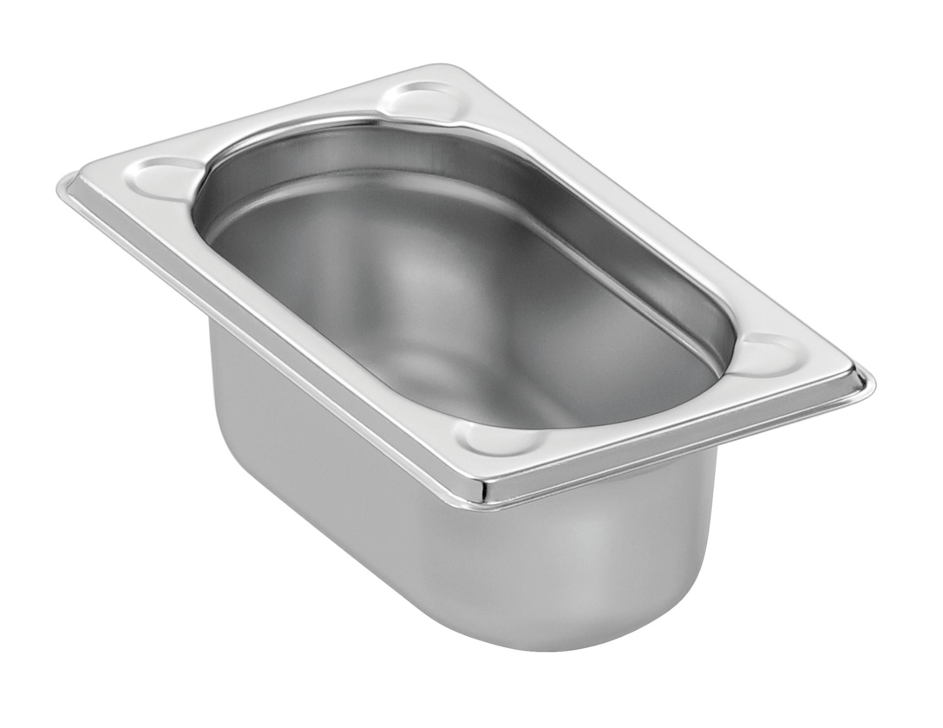 Bartscher GN-Behälter, 1/9GN,T65, Basic Line