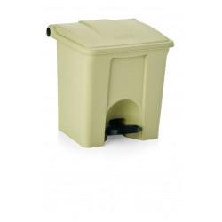 WAS Tretabfallbehälter herausnehmbarer Einsatz 87 Liter 50 x 40 x 83 cm Polypropylen