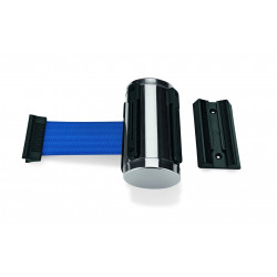 WAS Gurtband Highflex zur Wandmontage 3 m blau Edelstahl Polyester