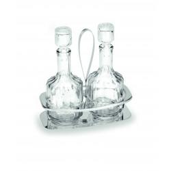 WAS Menage 1480 2-teilig Essig & Öl Glas