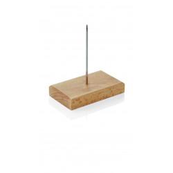 WAS Bonspieß 9 x 5,5 cm Holz/Edelstahl