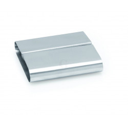 WAS Kartenhalter 8 x 7,5 x 2,2 cm Chromnickelstahl