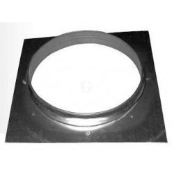 Gastro-Steel Lüftungstechnik Ansaug-/Ausblasstutzen mit Grundplatte