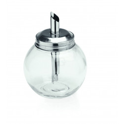 WAS Zuckerspender Kugelform Ø 8,5 cm 11,5 cm Glas