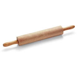 WAS Teigrolle mit Kugellager Länge der Rolle 38 cm Ø 7 cm Holz