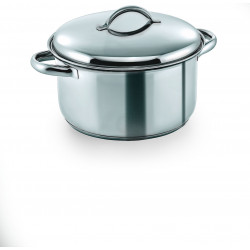 WAS Fleischtopf mit Deckel Cookware 19 Ø 20 cm 3,5 Liter Chromnickelstahl
