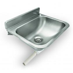 WAS Handwaschbecken zur Wandmontage 30,5 x 37,5 x 18,5 cm Chromnickelstahl