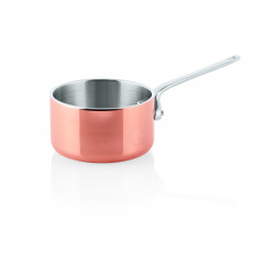 WAS Mini Servierkasserolle Mini Copper 20 3Ply Ø 12 cm Aluminium-Kupfer