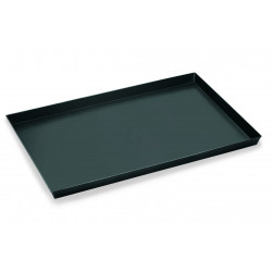 WAS Pizzablech 60 x 60 x 3 cm Blaublech