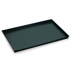 WAS Pizzablech 65 x 45 x 3 cm Blaublech