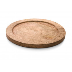 WAS Holzuntersetzer Ø 26 cm für Ø 24 cm