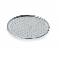 WAS Pizzablech Ø 28 cm Perforierung Ø 6,5 mm Aluminium