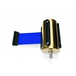 WAS Gurtband Highflex goldfarben 2 m blau Edelstahl Polyester