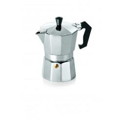 WAS Espressokocher 0,3 Liter Aluminium