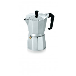 WAS Espressokocher 0,3 Liter Induktion geeignet Aluminium