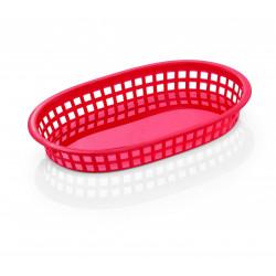 WAS Tischkorb 27 x 17,5 x 3,5 cm rot Polyethylen