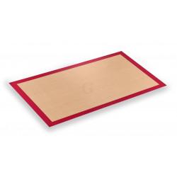 WAS Backmatte für Backbleche 40 x 30 cm fiberglasverstärkt Silikon