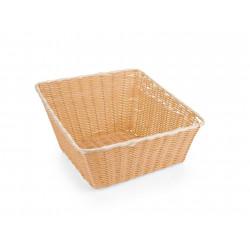 WAS Buffetkorb Basket 3140 43 x 43 cm quadratisch Polypropylen