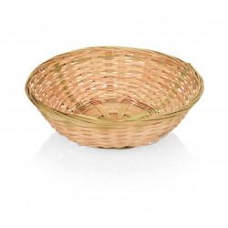WAS Tischkorb Ø 22 cm Bambus