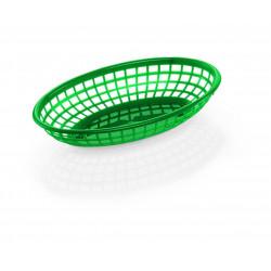 WAS Tischkorb 23,5 x 14,5 x 4,5 cm grün Polyethylen