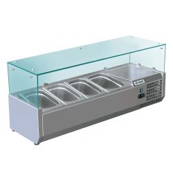 KBS Kühlaufsatz RX 1200 GN 1/3 Glas