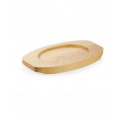 WAS Holzuntersetzer für 3525 120/121/122,18 x 10 x 1,6 cm