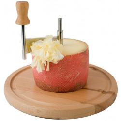APS Hobel für Käse und Schokolade mit Buchenholzplatte