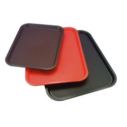 APS Fast Food-Tablett schwarz 35x27 cm