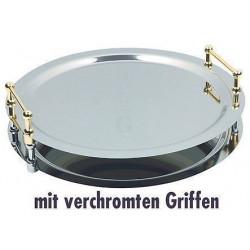 APS System-Tablett BUFFET-STAR 48 cm mit vergoldeten Griffen