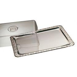 APS Tablett mit Haube 2-tlg. SCHÖNER ESSEN 42x31 cm