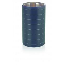 WAS Flaschenkühler pulverbeschichtet schwarz Ø 11,5 cm Edelstahl