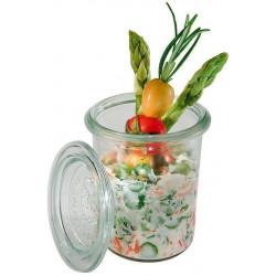 APS Weck-Glas mit Deckel Set 24-teilig 160 ml