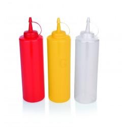 WAS Quetschflasche Ø 7 cm 0,45 Liter gelb Polyethylen