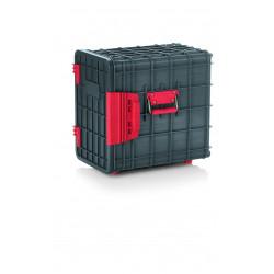 WAS GN Transportbehälter 1/1 12 Einschübe 59 x 41 x 59 cm ABS Kunststoff