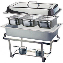 APS Chafing Dish TRIO 3 x GN 1/3