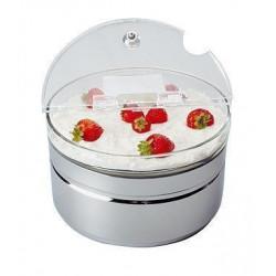 APS Kühlschale MAXI TOP FRESH Edelstahl 2,5 Liter Durchmesser 23 cm