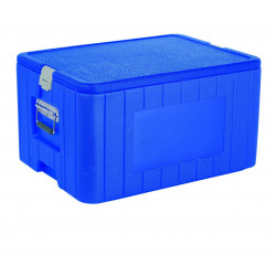 WAS GN Thermotransportbehälter 1/1 63 x 46 x 35,5 cm Polyethylen/Polyurethan