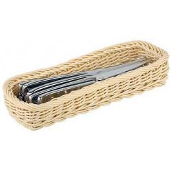 APS Besteck-Korb rechteckig Höhe 4,5 cm