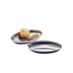APS Edelstahlschale oval 31x21x4,5 cm