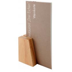 APS Kartenhalter Holz 2er Set