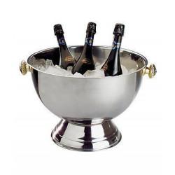 APS Champagnerkühler Edelstahl poliert 42 cm