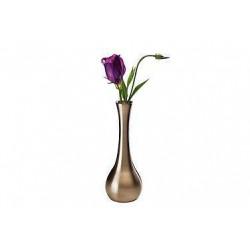 APS Vase Edelstahl-Look 6,5x18 cm
