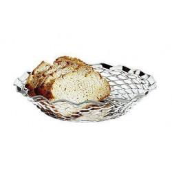 APS Brot- und Obstkorb rund 25x5 cm Edelstahl