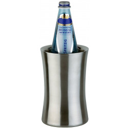APS Flaschenkühler Edelstahl 12,5x19 cm