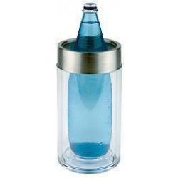 APS Flaschenkühler Acryl klar 9,5x23 cm