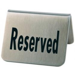 APS Tischaufsteller Reserved 2er Pack