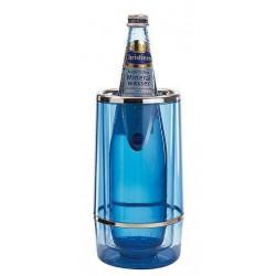 APS Flaschenkühler Acryl eisblau