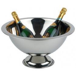 APS Champagnerschale Edelstahl poliert 45 cm