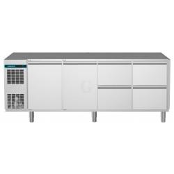 NordCap Kühltisch, 4 Abteile CLM 700 4-7031